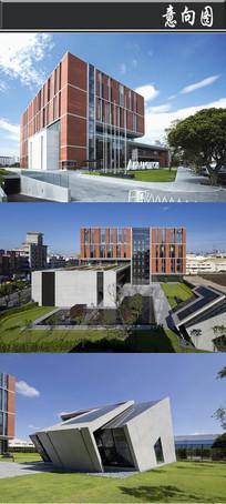 翻到的正方形创意建筑意向图 JPG