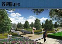 公园节点设计效果图 JPG