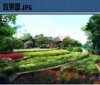 花海景观效果图 JPG
