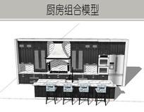 灰色奢华厨房装修