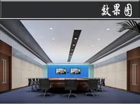 客服机房二层中会议室效果图