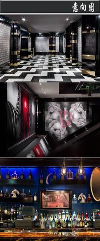 拉斯维加斯酒店赌场意向图 JPG