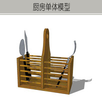 木质厨房置物架