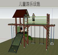 木质绿色构架设施