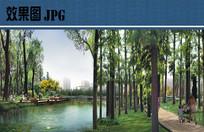 森林公园节点效果图