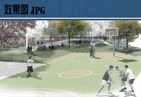 体育公园效果图