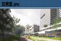 现代产业园区效果图 JPG