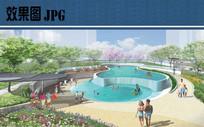 泳池景观效果图