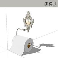 浴室纸巾装饰挂钩