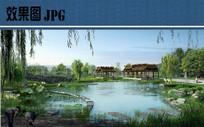 植物园景观效果图