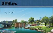 主题公园景观效果图