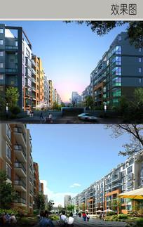 住宅建筑效果图 JPG
