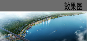 滨海景观设计鸟瞰图