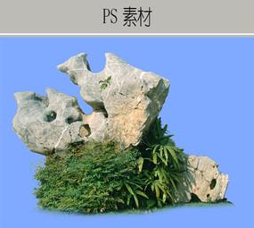 假山石造型PS素材