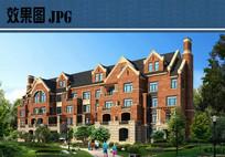 老人公寓建筑效果 JPG