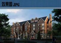 老人公寓建筑效果图 JPG