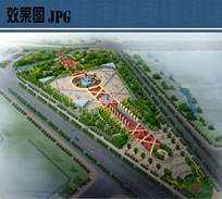 人民广场景观鸟瞰图 JPG