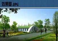 生态公厕效果图 JPG