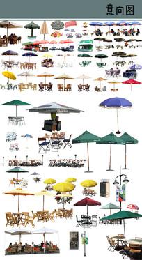 太阳伞素材