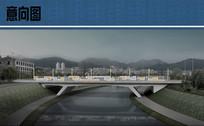 未来之窗景观桥效果图 JPG