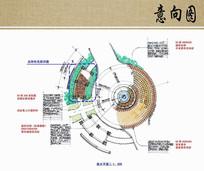 圆形广场局部平面图 JPG