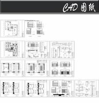 财富管理中心二层接待室施工图