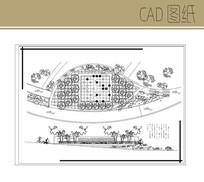 广场设计平立面图
