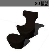 深色沙发座椅