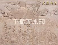 砂岩浮雕图案