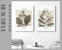 北欧花卉装饰画