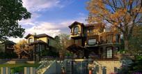 别墅建筑景观