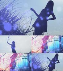 歌曲只想一生跟你走背景视频