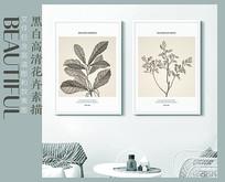 新中式工笔花鸟装饰画