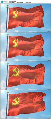 飘扬的党旗