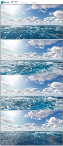 蓝天白云大海视频