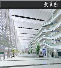 国际会展中心图书馆大堂