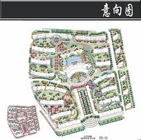 杭州某小区总平面图 JPG