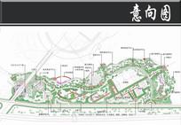 某湖滨公园景观设计总平面图