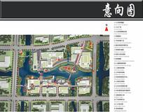宁波文化广场景观平面图
