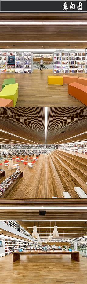 全木头创意书店意向图