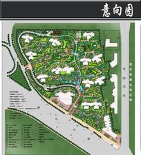 西安某住宅小区规划总平面图