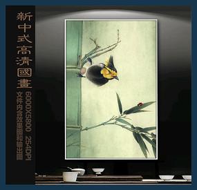 新中式客厅国画装饰画