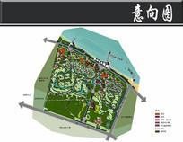 烟台滨海综合居住区总平面图