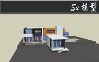展览馆建筑模型