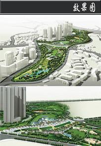 重庆儿童公园鸟瞰图
