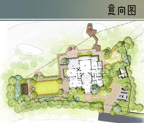 别墅花园平面图 JPG