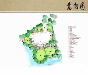 别墅景观平面图 JPG