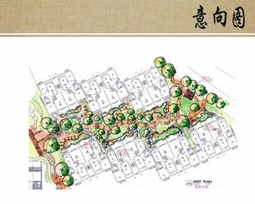 别墅区环境设计平面图
