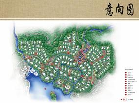 别墅区景观规划设计平面图
