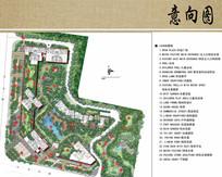 别墅区庭院景观设计平面图